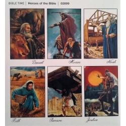 #0343 Samolepka - Hrdinovia Biblie